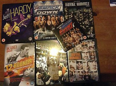 Wwe. Dvds.  Jeff Hardy.  Royal Rumble.  Smackdown