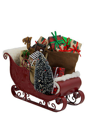Authentic Byers Choice Christmas Santa Sled Sleigh Chock Full of Toys Accessory
