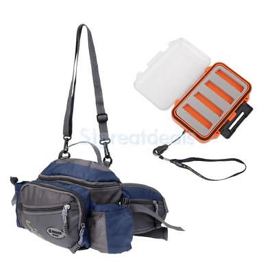Fishing Tackle Bag Multifunctional+Double Side Fly Fishing Lure Storage Case