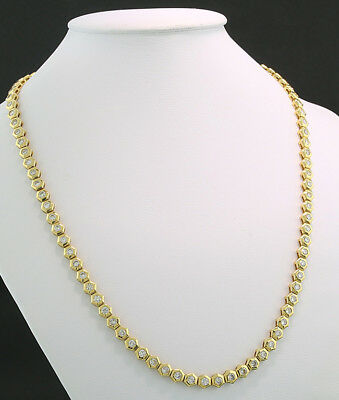 Luxus Brillant Collier 6,00 Ct G/vs 750 Gold Vkp 28.990 Euro Neu