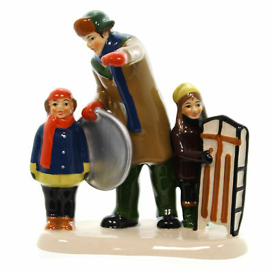 Department 56 Accessory CHRISTMAS VACATION, BINGO Sledding 4042410