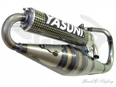 Yasuni Exhaust Scooter Z for PEUGEOT Buxy Speedfight TKR Trekker Vivacity