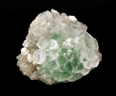 Apophyllite Light Green Froasted Crystl With Mordenite # 1868
