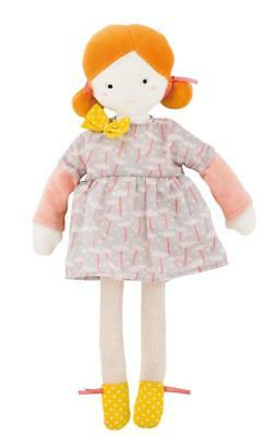 Moulin Roty Les Parisiennes Mademoiselle Blanche Soft Rag Doll 26cm
