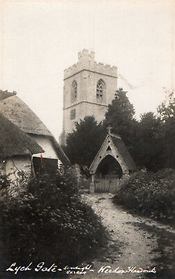 LYCH GATE/COTTAGE, WEEDON and HARDWICK - St. MARY's CHURCH