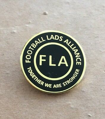 Football Lads Alliance Official Badge