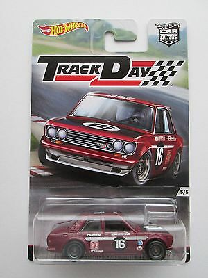 Hot Wheels Track Day Datsun Bluebird 510 Car Culture