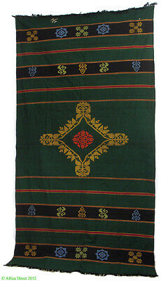 Indian Cotton Embroidered Textile