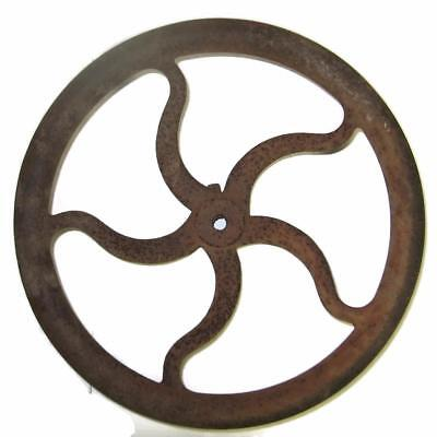 Green River Post Drill Press Flywheel 16 Inch Curved Spoke Cast Iron Lamp Base