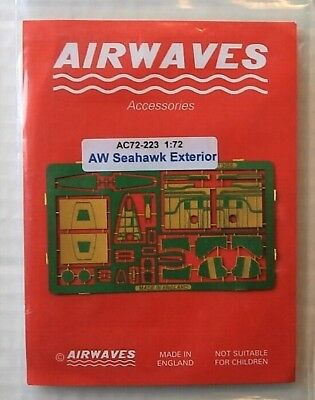 Airwaves Photo Etch 1/72 72223 Aw Seahawk Exterior