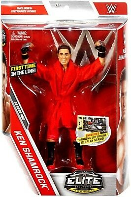 Wwe Wwf Mattel Elite Collection 52 Ken Shamrock Action Figure New & Boxed!!!!