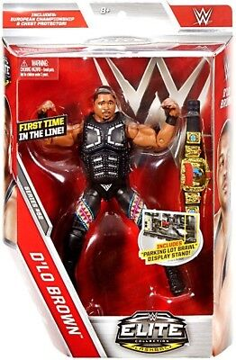 Wwe Wwf Mattel Elite Collection 52 D'lo Brown Action Figure New & Boxed!!!!