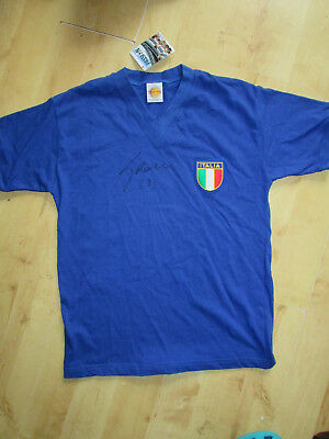 Italy Football  Toffs Reproduction  Shirt Signed by Fabio Grosso NWT