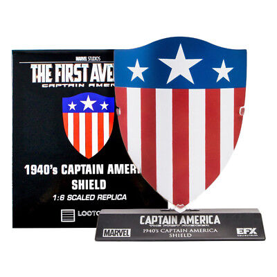 Captain America The First Avenger 1940's Shield 1:6 Scale Replica Lootcrate