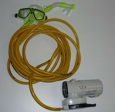 Air Compressor Electric DC 12V Hookah Diving Yacht Boat Hull Cleaning Dredging