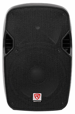 "Rockville SPGN124 12"" Passive 1200W DJ PA Speaker ABS Lightweight Cabinet 4 Ohm"