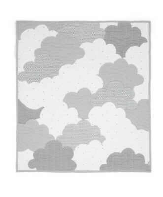 Mamas & Papas - Coverlet - Grey Clouds