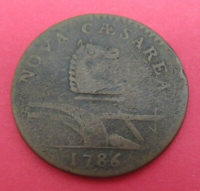 1786 New Jersey Post Colonial Coin~