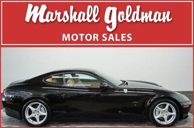 2005 Ferrari 612 Base Coupe 2-Door 2005 Ferrari 612 Scaglietti Nero Beige leather F1 Daytonas 17,900 miles