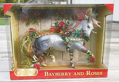 "Breyer 2014 Bayberry & Roses Holiday Horse Nib # 700117 ""esprit"""
