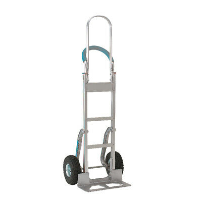 Stair climbing Hand Truck Tall Frame Low-Friction Skids Aluminium 317675