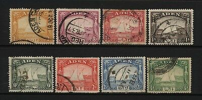 Aden Collection 8 Dhow Stamps Used