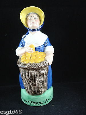 Franklin Porcelain Cries Of London Toby Jug - Oranges Penny For Three