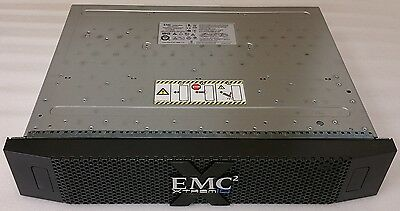 EMC XtremIO 25-Bay DAE with 25x 005050674 800GB SED SSD Drives, 2x PSU, 2x SAS