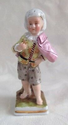 Lovely 19thC Sitzendorf Dandy Regency Boy Figurine German Figure Voight Antique