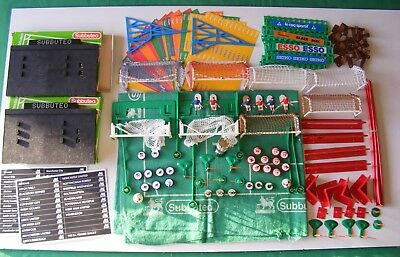 Subbuteo, Table soccer flick football Accessories lot, Mostly from 1960/70/80's