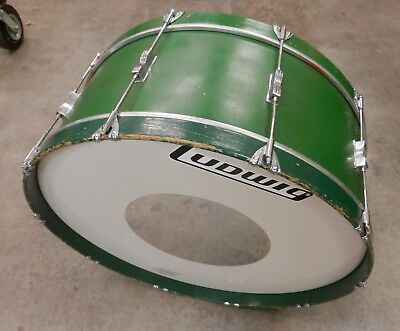 Vintage Ludwig 28x10 Bass Drum !NORESERVE!