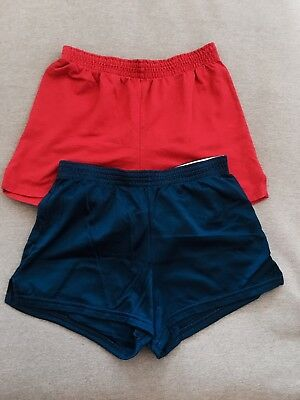 Lot of 2 SOFFE Shorts (Red and Blue) - size Small