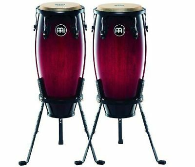 Meinl - Percussion Lot de 2 congas Headliner [HC555WRB] [wine red burst] NEUF