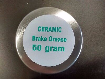 Ceramic Brake Grease High Temperature ABS Compatible Handy 50g Tin