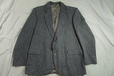 Vtg Magee Blazer Sport Coat Handwoved Tailored Donegal Ireland 2 Button Jacket