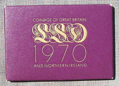 1970 GB proof Year set as issued by the Royal Mint - last LSD