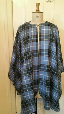Manx Tartan Wedding Cape