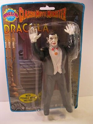 Universal Dracula 1986 Imperial Toy Sealed Moc 8 Inch Halloween Movie Monster