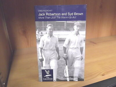 Jack Robertson and Syd Brown: More Than Just The Warm-Up Act by Chris Overson