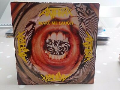 "Anthrax Make Me Laugh Limited Edition Thrash Rock Metal 1988 7"" Vinyl"