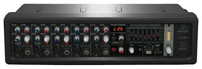 Europower 5 Channel Rack Mount Powered Mixer with FX