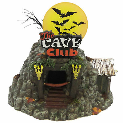 Department 56 House THE CAVE CLUB Ceramic Halloween 4025339