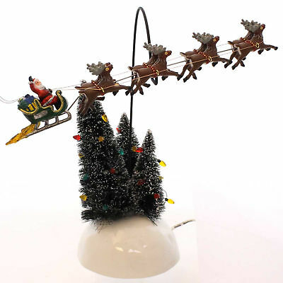 Dept 56 Accessories ANIMATED FLAMING SLED Ceramic Christmas Vacation 4030744
