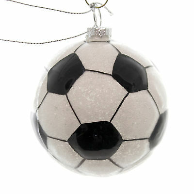 Holiday Ornaments SOCCER Glass Sports Team 67145