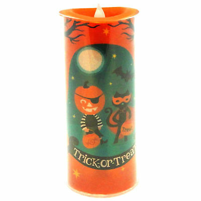 Halloween TRICK OR TREAT LED SHIMMER CAND Acrylic 20111951