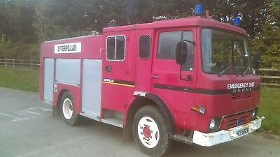 Dodge 100 Fire Engine Emergency Vehicle Carmichael Body Work Runs And Drives