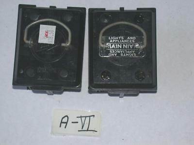 FPE Federal Pacific Main & Range 60AMP 60A 60 A Fused Pullout 1 each set FreeS