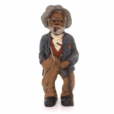 """All Gods Children UNCLE BUD 8.5"""" Polyresin African American Pipe Grandpa 1303"""