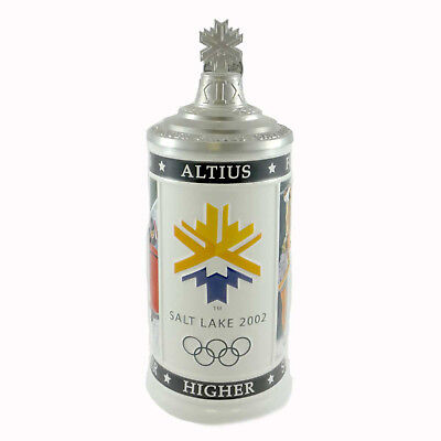 Anheuser-Busch CELEBRATING THE CHALLENGE Ceramic Olympics Winter Games CS454