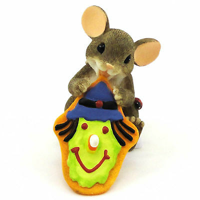 Charming Tails SWEET WITCHES FOR A HAPPY HALLOWEEN Resin Dean Griff 4027678